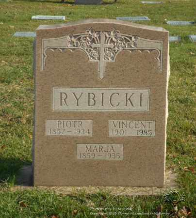 RYBICKI, VINCENT - Lucas County, Ohio | VINCENT RYBICKI - Ohio Gravestone Photos
