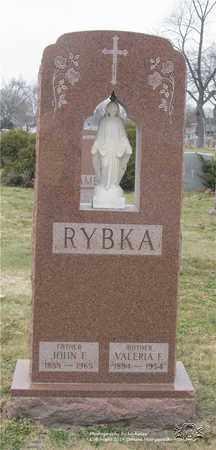 RYBKA, VALERIA F. - Lucas County, Ohio | VALERIA F. RYBKA - Ohio Gravestone Photos
