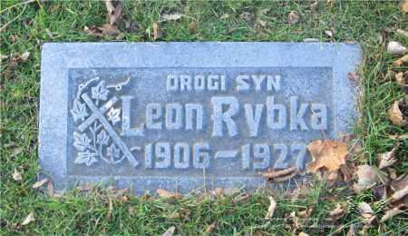 RYBKA, LEON - Lucas County, Ohio | LEON RYBKA - Ohio Gravestone Photos