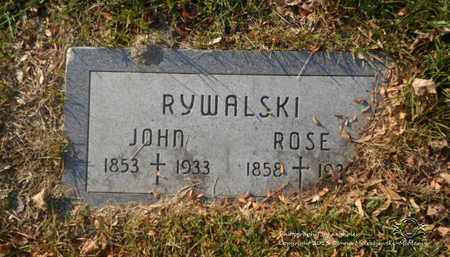 RYWALSKI, ROSE - Lucas County, Ohio | ROSE RYWALSKI - Ohio Gravestone Photos