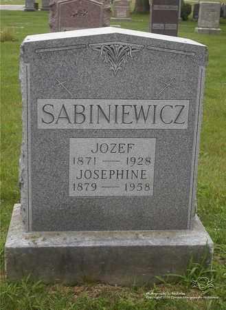 SABINIEWICZ, JOZEF - Lucas County, Ohio | JOZEF SABINIEWICZ - Ohio Gravestone Photos