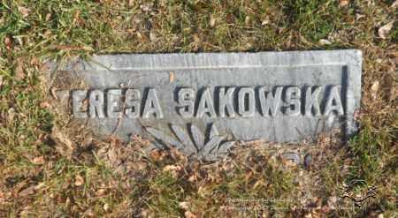 SAKOWSKA, TERESA - Lucas County, Ohio | TERESA SAKOWSKA - Ohio Gravestone Photos