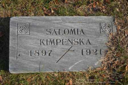 KIMPENSKA, SALOMIA - Lucas County, Ohio | SALOMIA KIMPENSKA - Ohio Gravestone Photos