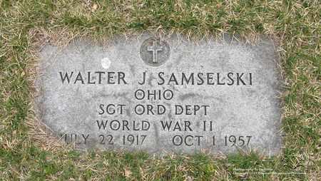 SAMSELSKI, WALTER J. - Lucas County, Ohio | WALTER J. SAMSELSKI - Ohio Gravestone Photos