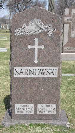SARNOWSKI, STANLEY L. - Lucas County, Ohio | STANLEY L. SARNOWSKI - Ohio Gravestone Photos