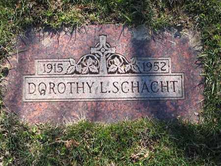 SCHACHT, DOROTHY - Lucas County, Ohio | DOROTHY SCHACHT - Ohio Gravestone Photos