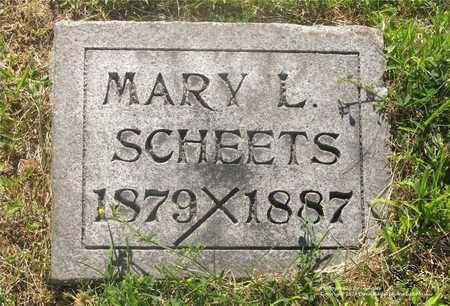 SCHEETS, MARY L. - Lucas County, Ohio | MARY L. SCHEETS - Ohio Gravestone Photos
