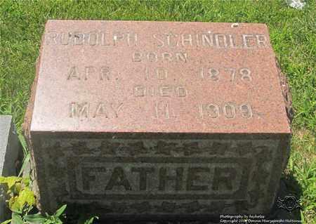 SCHINDLER, RUDOLPH - Lucas County, Ohio | RUDOLPH SCHINDLER - Ohio Gravestone Photos
