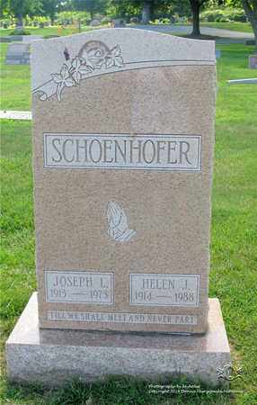 SCHOENHOFER, JOSEPH L. - Lucas County, Ohio | JOSEPH L. SCHOENHOFER - Ohio Gravestone Photos
