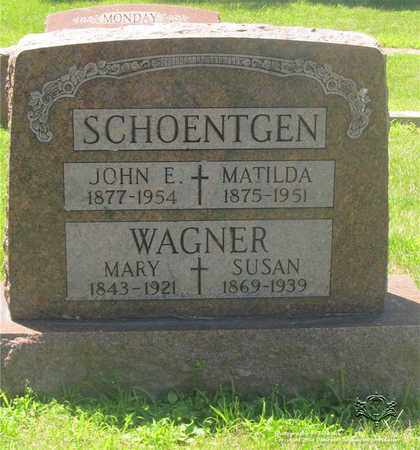 WAGNER, SUSAN - Lucas County, Ohio | SUSAN WAGNER - Ohio Gravestone Photos
