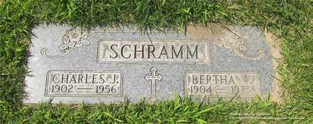 SCHRAMM, BERTHA W. - Lucas County, Ohio | BERTHA W. SCHRAMM - Ohio Gravestone Photos