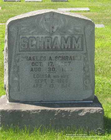 SCHRAMM, LOUISA - Lucas County, Ohio | LOUISA SCHRAMM - Ohio Gravestone Photos