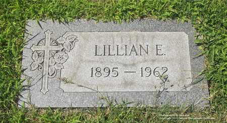 SCHRAMM, LILLIAN E. - Lucas County, Ohio | LILLIAN E. SCHRAMM - Ohio Gravestone Photos
