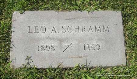SCHRAMM, LEO A. - Lucas County, Ohio | LEO A. SCHRAMM - Ohio Gravestone Photos