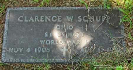 SCHUPP, CLARENCE W. - Lucas County, Ohio | CLARENCE W. SCHUPP - Ohio Gravestone Photos