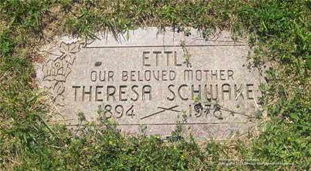 ETTL SCHWAKE, THERESA - Lucas County, Ohio | THERESA ETTL SCHWAKE - Ohio Gravestone Photos