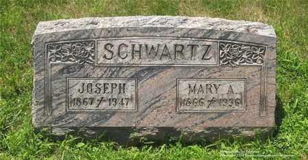 SCHWARTZ, MARY A. - Lucas County, Ohio | MARY A. SCHWARTZ - Ohio Gravestone Photos