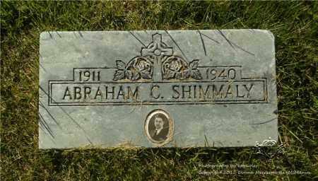 SHIMMALY, ABRAHAM C. - Lucas County, Ohio | ABRAHAM C. SHIMMALY - Ohio Gravestone Photos