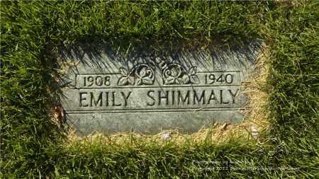 SHIMMALY, EMILY - Lucas County, Ohio | EMILY SHIMMALY - Ohio Gravestone Photos