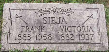 SIEJA, FRANK - Lucas County, Ohio | FRANK SIEJA - Ohio Gravestone Photos