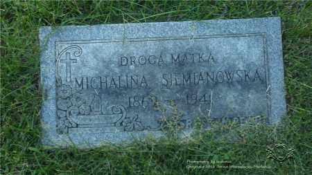 SIEMIANOWSKA, MICHALINA - Lucas County, Ohio | MICHALINA SIEMIANOWSKA - Ohio Gravestone Photos