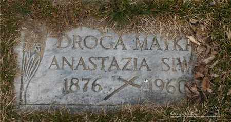 SIWA, ANASTAZIA - Lucas County, Ohio | ANASTAZIA SIWA - Ohio Gravestone Photos