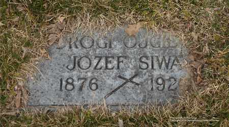SIWA, JOZEF - Lucas County, Ohio | JOZEF SIWA - Ohio Gravestone Photos
