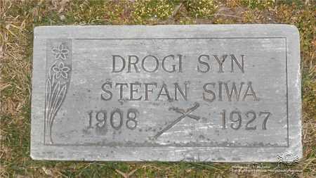 SIWA, STEFAN - Lucas County, Ohio | STEFAN SIWA - Ohio Gravestone Photos