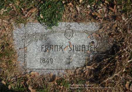 SIWAJEK, FRANK - Lucas County, Ohio | FRANK SIWAJEK - Ohio Gravestone Photos