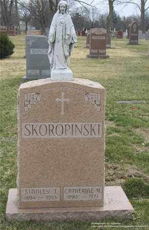 SKOROPINSKI, STANLEY J. - Lucas County, Ohio | STANLEY J. SKOROPINSKI - Ohio Gravestone Photos