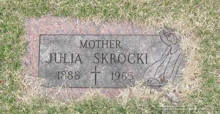 SKROCKI, JULIA - Lucas County, Ohio | JULIA SKROCKI - Ohio Gravestone Photos