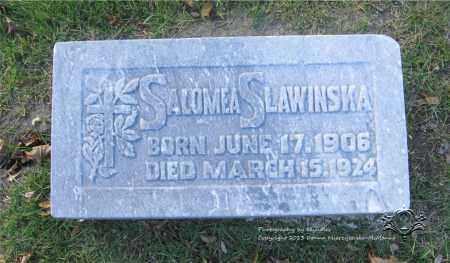 SLAWINSKA, SALOMEA - Lucas County, Ohio | SALOMEA SLAWINSKA - Ohio Gravestone Photos
