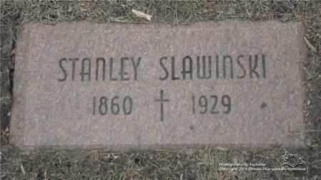 SLAWINSKI, STANLEY - Lucas County, Ohio | STANLEY SLAWINSKI - Ohio Gravestone Photos