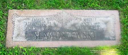 SLAWOSZEWSKI, ANNA P. - Lucas County, Ohio | ANNA P. SLAWOSZEWSKI - Ohio Gravestone Photos