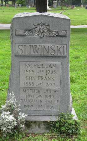SLIWINSKI, JAN - Lucas County, Ohio | JAN SLIWINSKI - Ohio Gravestone Photos