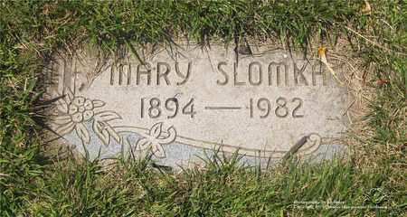 SLOMKA, MARY - Lucas County, Ohio | MARY SLOMKA - Ohio Gravestone Photos