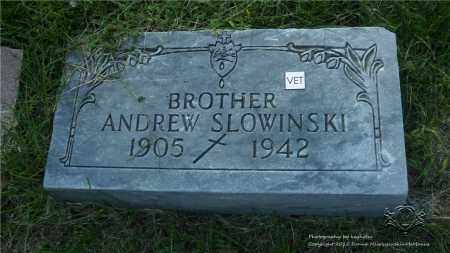 SLOWINSKI, ANDREW - Lucas County, Ohio | ANDREW SLOWINSKI - Ohio Gravestone Photos