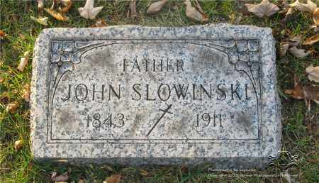 SLOWINSKI, JOHN - Lucas County, Ohio | JOHN SLOWINSKI - Ohio Gravestone Photos