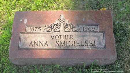 SMIGIELSKI, ANNA - Lucas County, Ohio | ANNA SMIGIELSKI - Ohio Gravestone Photos