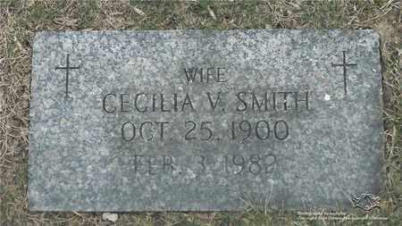 SMITH, CECILIA V. - Lucas County, Ohio | CECILIA V. SMITH - Ohio Gravestone Photos