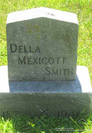 MEXICOTT SMITH, DELLA - Lucas County, Ohio | DELLA MEXICOTT SMITH - Ohio Gravestone Photos