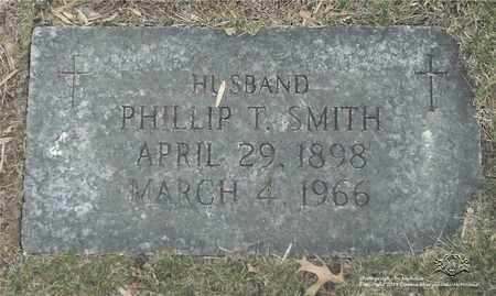 SMITH, PHILLIP T. - Lucas County, Ohio | PHILLIP T. SMITH - Ohio Gravestone Photos