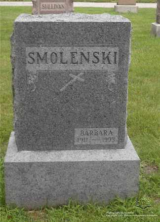 SMOLENSKI, BARBARA - Lucas County, Ohio | BARBARA SMOLENSKI - Ohio Gravestone Photos