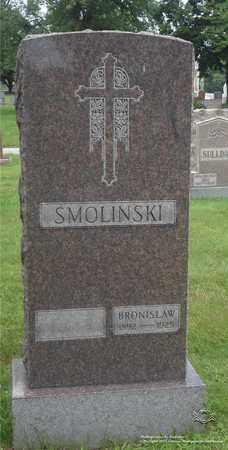 SMOLINSKI, BRONISLAW - Lucas County, Ohio | BRONISLAW SMOLINSKI - Ohio Gravestone Photos