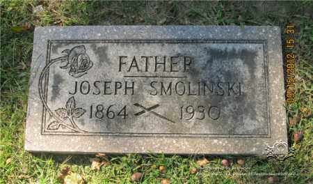 SMOLINSKI, JOSEPH - Lucas County, Ohio | JOSEPH SMOLINSKI - Ohio Gravestone Photos
