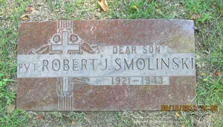 SMOLINSKI, ROBERT J. - Lucas County, Ohio | ROBERT J. SMOLINSKI - Ohio Gravestone Photos