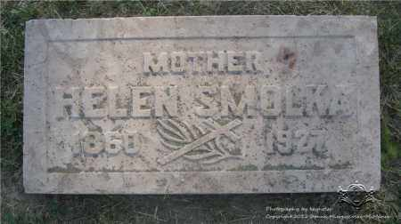 SMOLKA, HELEN - Lucas County, Ohio | HELEN SMOLKA - Ohio Gravestone Photos