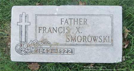 SMOROWSKI, FRANCIS X. - Lucas County, Ohio   FRANCIS X. SMOROWSKI - Ohio Gravestone Photos