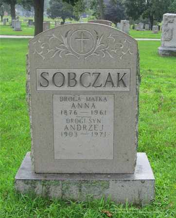 SOBCZAK, ANNA - Lucas County, Ohio | ANNA SOBCZAK - Ohio Gravestone Photos