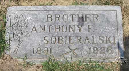SOBIERALSKI, ANTHONY F. - Lucas County, Ohio | ANTHONY F. SOBIERALSKI - Ohio Gravestone Photos